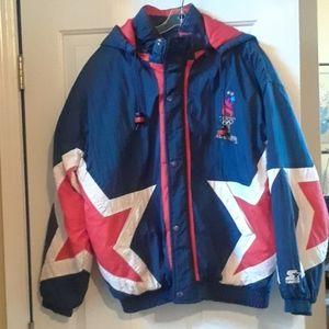 Rare Vintage 1996 Olympic Hooded Men's Winter coat